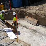 Excavation Form work RW SW 5