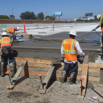 Lean Concrete Pour SB On Ramp