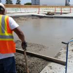Lean Concrete Pour SB OnRamp