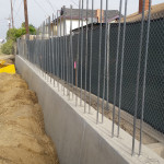 Reinforcement and Barrier Rail for SW