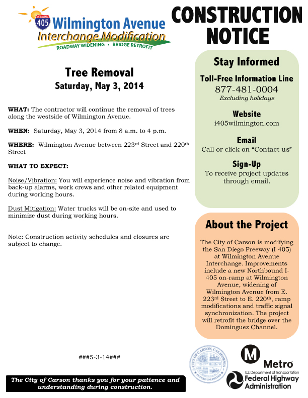 Microsoft Word - 5-3-14 Tree Work (I-405 Wilmington Ave Intercha